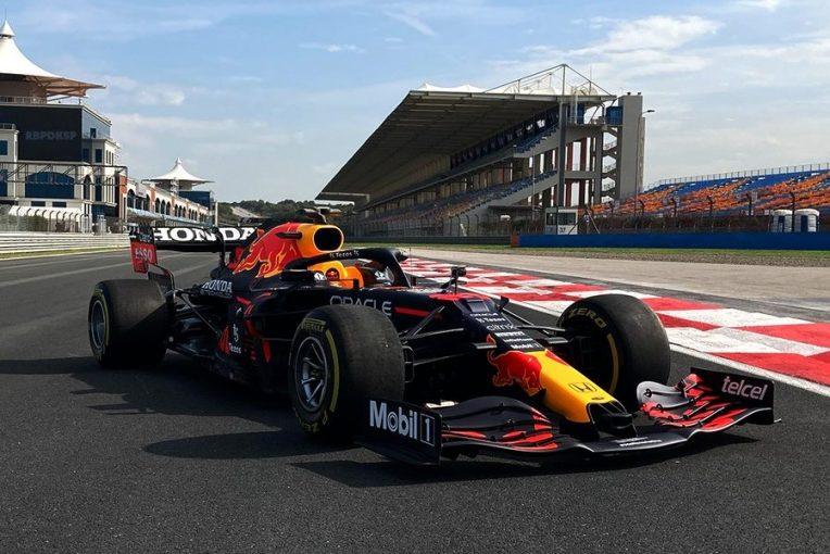 F1   レッドブル・ホンダF1がフィルミングデー走行を実施。トップスピードが優れたメルセデスへの対抗策を探る