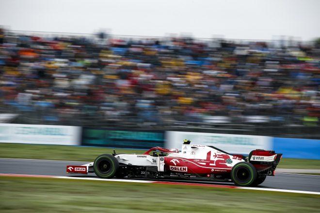 2021年F1第16戦トルコGP アントニオ・ジョビナッツィ(アルファロメオ)