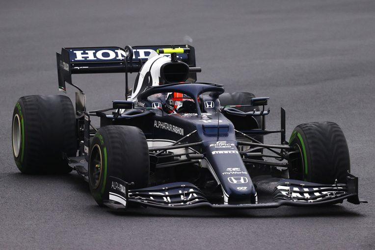 F1   ターン8でのタイヤの労わり方が「ふたりのラップタイム差、ダメージに繋がった」/ホンダ本橋CEインタビュー
