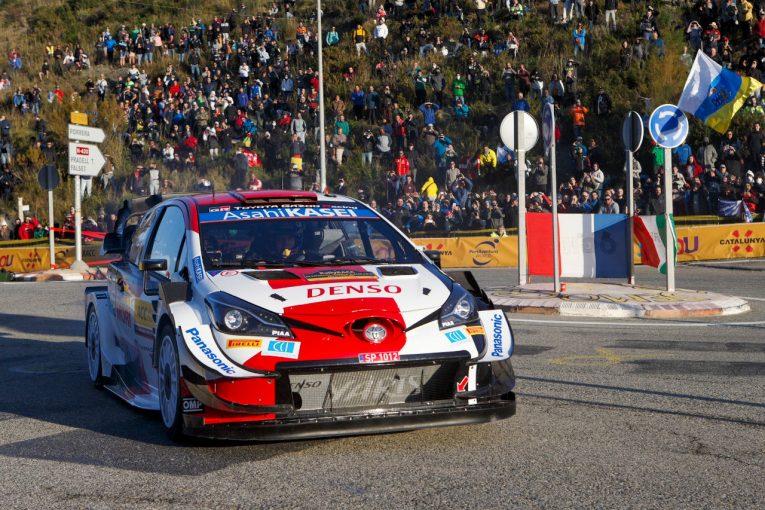 ラリー/WRC   8冠に王手のオジエがシェイクダウン首位。逆転狙うエバンスが続く/WRC第11戦スペイン